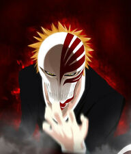 Hot Bleach Mask Cosplay Prop Kurosaki Ichigo Bankai Anime Figure Hollow Masks