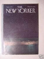 New Yorker September 2 1974 CHARLES E MARTIN +++