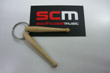 Xmas Gift* DRUM STICKS KEY RING - GIFT FOR ANY DRUMMER DRUMSTICK KEYRING CHAIN