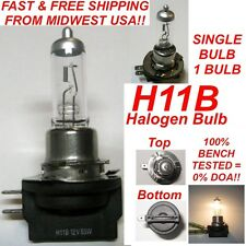 12V 55W H11B Halogen OEM Replacement Headlight Bulb Crystal Clear Standard Color