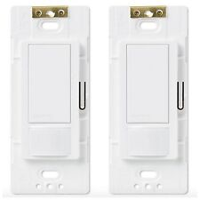Lutron Occupancy Motion Sensor Detector Detection Automatic Light Switch 2 Pack