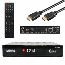 HiTube 4K UHD Combo 2160p E2 Linux DVB-S2X Sat & DVB-T2/C Wifi Receiver