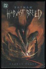 Batman Harvest Breed Hardcover Hc Dark Knight George Pratt art New Sealed Unread
