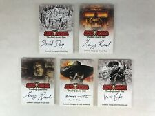 DEAD WORLD Breygent 2012 BULK LOT OF 5 ARTIST AUTOGRAPH Z-CARD CARDS from Sets