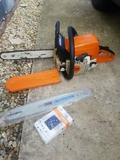 Stihl MS210 Chainsaw Red White +New Spare Blade + New Stihl Chain +Chain Cover.