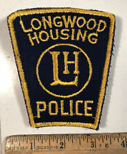 Vintage Longwood Housing Ohio Police Department Officer Shoulder Patch Sew On