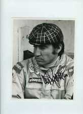 Clay Regazzoni Ferrari F1 Portrait 1972 Signed Press Photograph 2