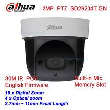 Dahua SD29204T-GN 2Mp Network Mini IR PTZ Dome IP Speed Dome 4x optical zoom MIC