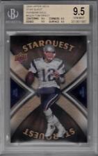 2008 Upper Deck Star Quest Rainbow Gold #SQ29 Tom Brady BGS 9.5 Patriots 1957