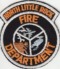 NORTH LITTLE ROCK FIRE DEPARTMENT FIREFIGHTING PATCH ARKANSAS AR OLDER STYLE