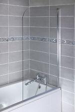 Cassellie Curved Top Bath Screen 1400x800mm