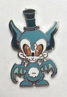 BLUE NIGHT KING ENAMEL PIN BY ARTIST BRANDT PETERS FROM CIRCUS POSTERUS