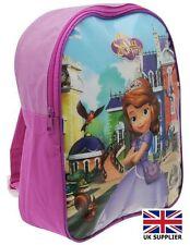 Disney Sofia Kids Backpack School Bag Rucksack Girls Trendy NEW UK SELLER