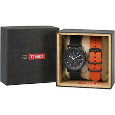 Timex Metropolitan+ Gift Set | Analog Activity Tracker w Extra Strap | TWG012600