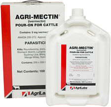 AgriLabs Agri-Mectin Cattle Pour-On Parasiticide 5L #043553