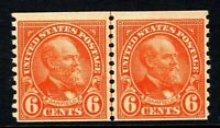[DZ]   US #723  MNH OG  Rotary Press, Perf 10 Vertically Coil Line Pair