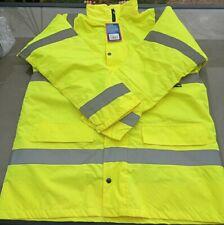 ST Hi Vis Standard Parka Jacket coat Yellow Hi Visibility Hi Viz Large 35443