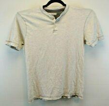 Pd & C Short Sleeve Men's X-Large Pullover Shirt 1/4 Button Gray