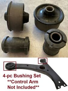 4pSet Heavy Duty Bushing fit Front Lower Arms Toyota Matrix 03-13 Corolla 03-18