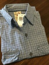 RELWEN THE MID-BLUE WORK-SHIRT (SMALL)