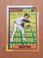 1990 Topps NOLAN RYAN Card #3 CALIFORNIA ANGELS  MINT -HOF