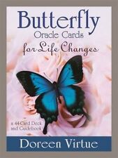 Butterfly Oracle Cards for Life Changes: A 44-Card Deck and Guidebook by Doreen