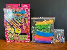 I Love Lanyard Kit Make Bracelets Key Chains and More Kids Crafts Beads