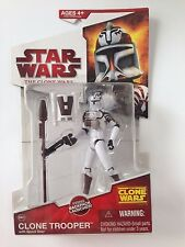 Star Wars Clone Trooper with Space Gear The Clone Wars CW02 Action Figure 2009