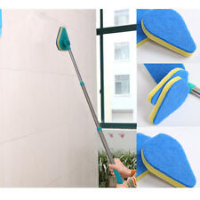 3in1 Clean Reach Cleaning Pad Brush Scrubber Cleaning Product Handle & 3x Pads