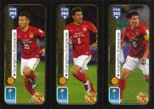 Panini Sticker Fifa 365 2017 Nr. 661a Hanchao Yu 661b Paulinho 661c Zhi Zheng