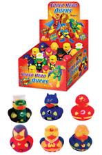 24 x Super Hero RUBBER DUCK MINI DUCKS GIFT Party bag 5CM. Fund raising