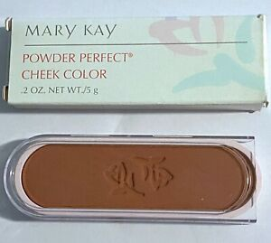 Vintage Mary Kay Powder Perfect Cheek Color Blush Cashmere 6205 NIB