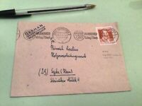Germany Hanover Export Fair 1947 slogan cancel  stamps cover  50454