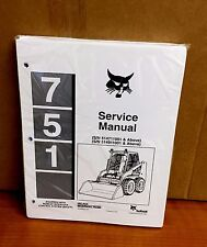 Bobcat 751 BICS Loader Service Shop Repair Manual 514711001 514911001 5/97