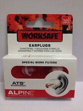 Alpine Worksafe Ear plugs-special work filters-Cheapest Price on eBay