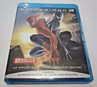 SPIDER-MAN 3 - EDICIÓN 2 BLURAY- MARVEL- CONTENIDOS EXTRAS- DURACIÓN 139 MINUTOS