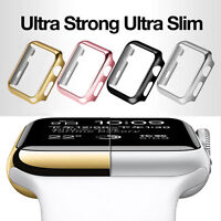 Apple Watch Series 1 2 3 PC Hard iWatch Case Cover  38mm 42mm + Screen Protector