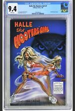 Halle The Hooters Girl #1 (1998) - CGC 9.4 - Recalled Due To Lawsuit, White Pgs