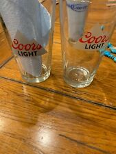 Coors Light Glasses One With Coyote