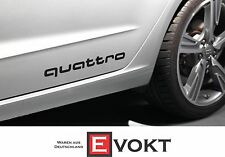 Audi A3 A4 A5 A6 A7 A8 Decorative Film Quattro Logo Glossy Black Genuine New