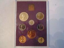 1970 BRITISH CROWN/SHILLING MINT SET OF COINS - ROYAL MINT - BB-1