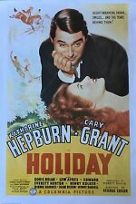 HOLIDAY Movie Poster - Classic Movie Full Size Print ~ Cary Grant Hepburn