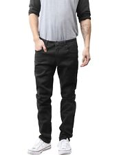 Premium Designer Fashion Mens Slim Fit Skinny Denim Jeans Color Pants Washed WD