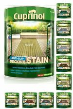 Cuprinol Anti Slip Decking Stain Non Slip Decking Shed Paint - All Colours 2.5L