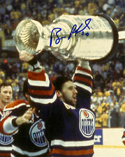 Bill Ranford Hand Signed 8x10 Photo Edmonton Oilers Stanley Cup Autograph NHL