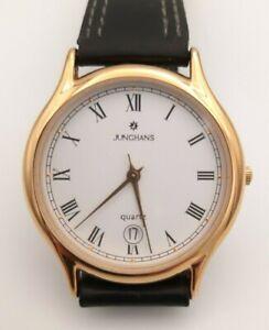 Junghans Quartz Armbanduhr 41/7655 Made in Germany