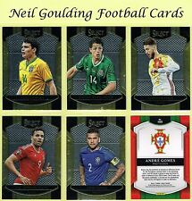 Panini SELECT SOCCER 2016-2017 'Terrace' Base Football Cards #1 to #100