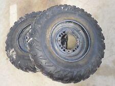 polaris 400l sportsman magnum 425 xplorer 500 1995 front rims wheels tires black