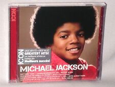 CD MICHAEL JACKSON Icon Greatest Hits (2012, CANADA) NEW MINT SEALED