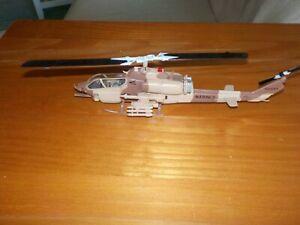 IXO Diecast 1/72 AH-1W USMC Cobra Attack Helicopter.